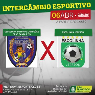 #INTERCÂMBIO ESPORTIVO